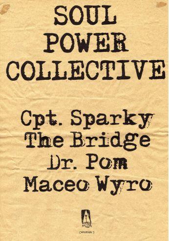 Plakat imprezy Soul Power, klub Muza